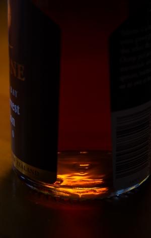 One Light Wine Bottle Shot - Penny Kennedy